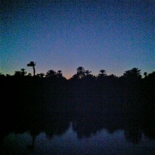 Nilen säger god natt.