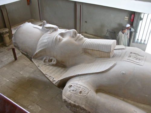 Ramses II, stor kille.